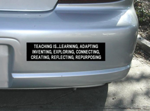Teaching Bumper Sticker